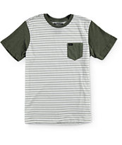 RVCA Boys Change Up Stripe T-Shirt