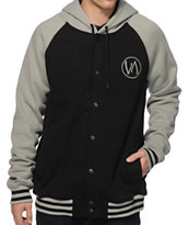 RVCA Brawler Hooded Varsity Jacket