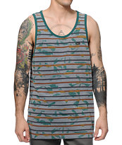 RVCA Broken Palms Tank Top