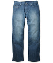RVCA Chev Blue Stretch Regular Jeans