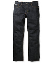 RVCA Classic Chev Rigid Indigo Regular Fit Jeans