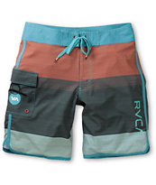 RVCA Commander Blue 20 Board Shorts