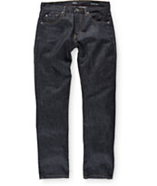 RVCA Dagger Deep Indigo Blue Slim Fit Jeans