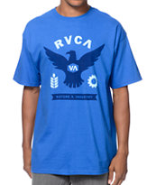 RVCA Flight Blue Tee Shirt