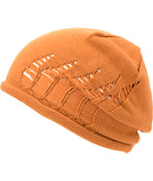 RVCA Girls Kyme Amber Orange Beanie