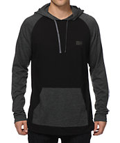 RVCA Graham Long Sleeve Hooded Shirt