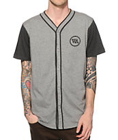 RVCA Opening Day Fleece Baseball Jersey