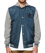 RVCA Puffer Hooded Vest Jacket
