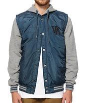RVCA Puffer Hooded Vest Jacket