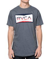 RVCA Reds Grey T-Shirt