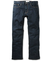 RVCA Regulars Deep Indigo Stretch Regular Fit Jeans
