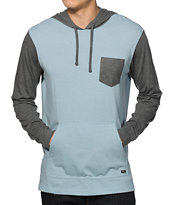 RVCA Set Up Hooded Pocket Shirt