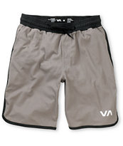 RVCA Sport Grey Mesh Basketball Shorts
