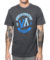 RVCA VA Craft Black & Blue Tee Shirt