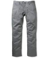 RVCA Week-End Pavement Twill Chino Slim Fit Pants