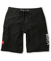 RVCA Western II Black 21 Board Shorts