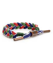 Rastaclat Nautical Red, Green, & Blue Bracelet