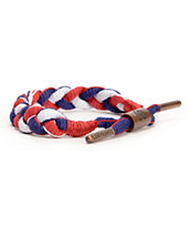 Rastaclat Nautical Red, White, & Blue Bracelet