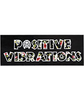 Rastaclat Positive Vibrations Sticker