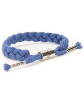 Rastaclat x People Water Navy Rope Bracelet