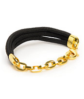 Rastaclat x Snoop Lion Onyx Black Bracelet