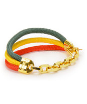 Rastaclat x Snoop Lion Rasta Bracelet