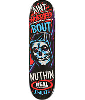 Real Aultz Crypto Mashup 8.0 Skateboard Deck
