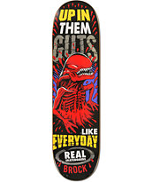 Real Brock Crypto Mashup 8.5 Skateboard Deck