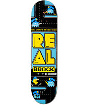 Real Brock The Game's Never Over 8.18 Skateboard Deck