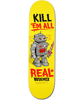 Real Busenitz Killbot 8.38 Skateboard Deck