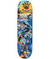 Real Busenitz Zombie Cop 8.0 Skateboard Deck