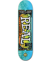 Real Chima Ticket To Ride 7.81 Skateboard Deck