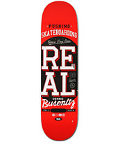 Real Dennis Busenitz Pushing R1 8.25 Skateboard Deck