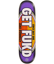 Real Donnelly Get Fukd 8.25 Skateboard Deck