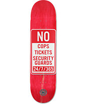 "Real Enforcement Prohibited 8.06"" Skateboard Deck"