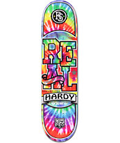 "Real Hardy Burnout 8.06"" Skateboard Deck"