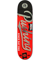 Real Pushing All City 8.2 Skateboard Deck