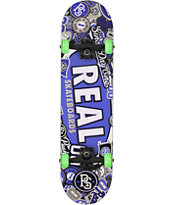 Real Stick Em Up 8.0 Skateboard Complete