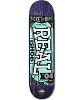 Real Wair Ticket To Ride 8.38 Skateboard Deck