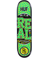Real x HUF Low Pro 8.0 Plantlife Skateboard Deck