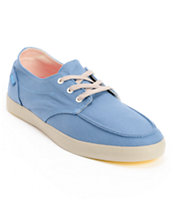 Reef Deck Hand 2 Light Blue Canvas Boat Shoe