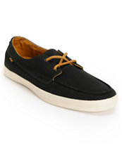 Reef Deckhand 2 Low Black & Tan Boat Shoe