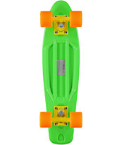 Retro Skateboards Green, Orange, & Yellow 22.5 Cruiser Complete