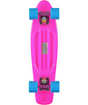 Retro Skateboards Pink, Blue & Purple 22.5 Cruiser Complete