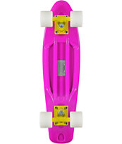 Retro Skateboards Purple, White, & Yellow 22.5 Cruiser Complete