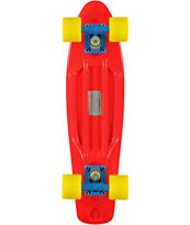 Retro Skateboards Red, Yellow, & Blue 22.5 Cruiser Complete