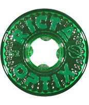 Ricta Optix Clear Green 52mm Skateboard Wheels