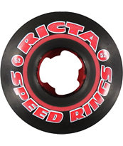 Ricta Speedrings Black 52mm Skateboard Wheels