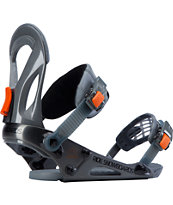 Ride EX Charcoal 2014 Snowboard Bindings