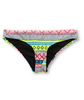 Rip Curl Bali Dancer Tribal Print Cheeky Bikini Bottom